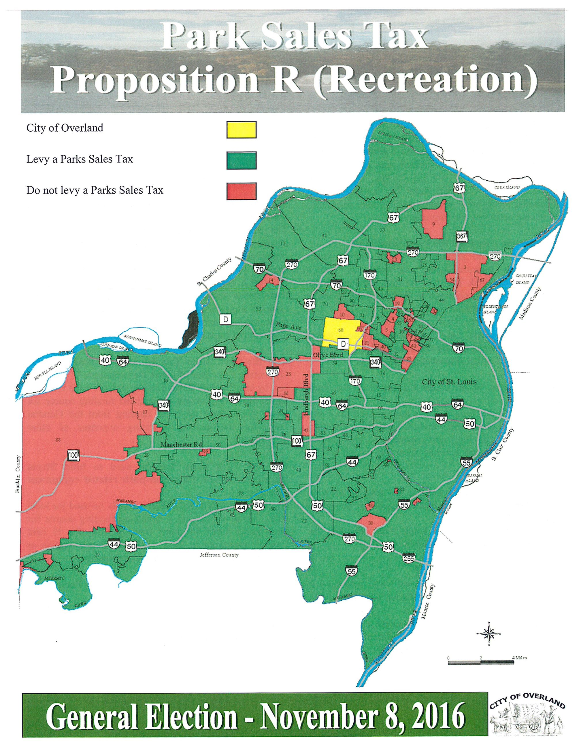 Park Sales Tax Flyer - Map