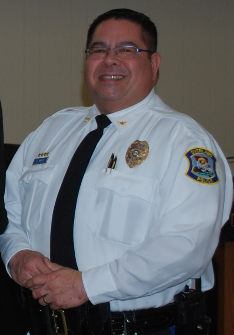Interim Police Chief Andy Mackey